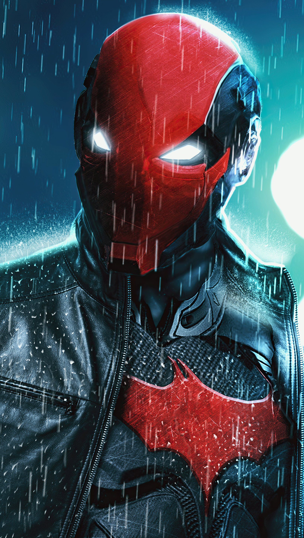 Wallpaper Red hood Vigilante Vertical