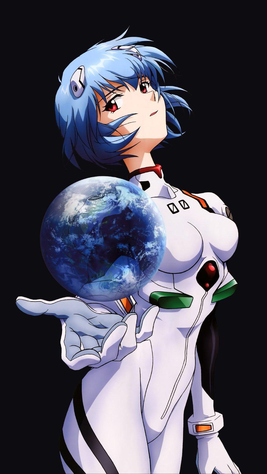 Rei Ayanami From Neon Genesis Evangelion Anime Wallpaper 2k Quad Hd Id 5020