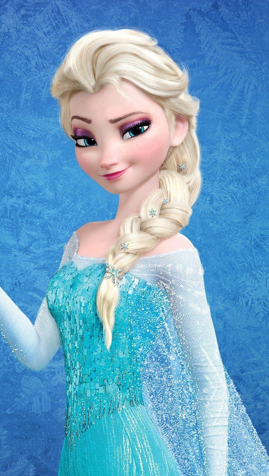 Fondos de pantalla Reina de hielo Elsa en Frozen Vertical