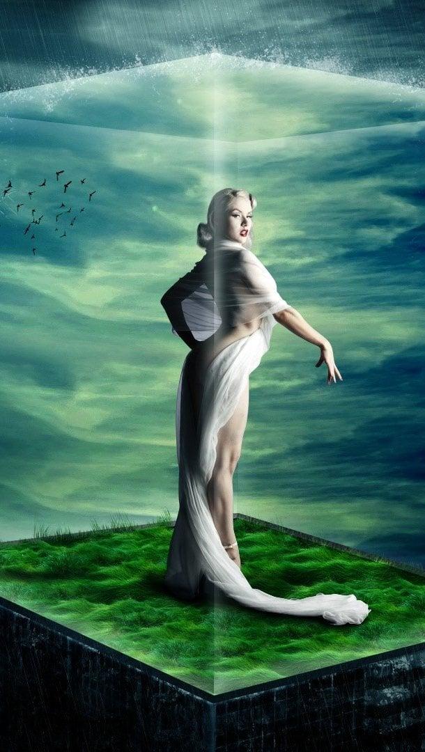 Wallpaper Queen of nature Vertical