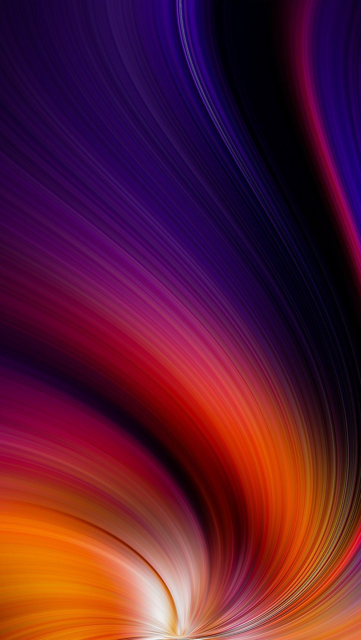 Fondos de pantalla Remolino de color Vertical