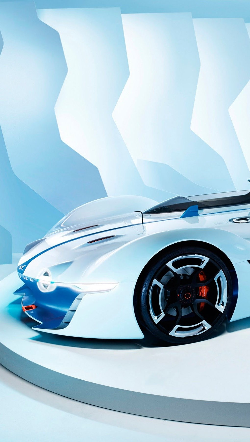 Wallpaper Renault Alpine Vision in Gran Turismo Vertical