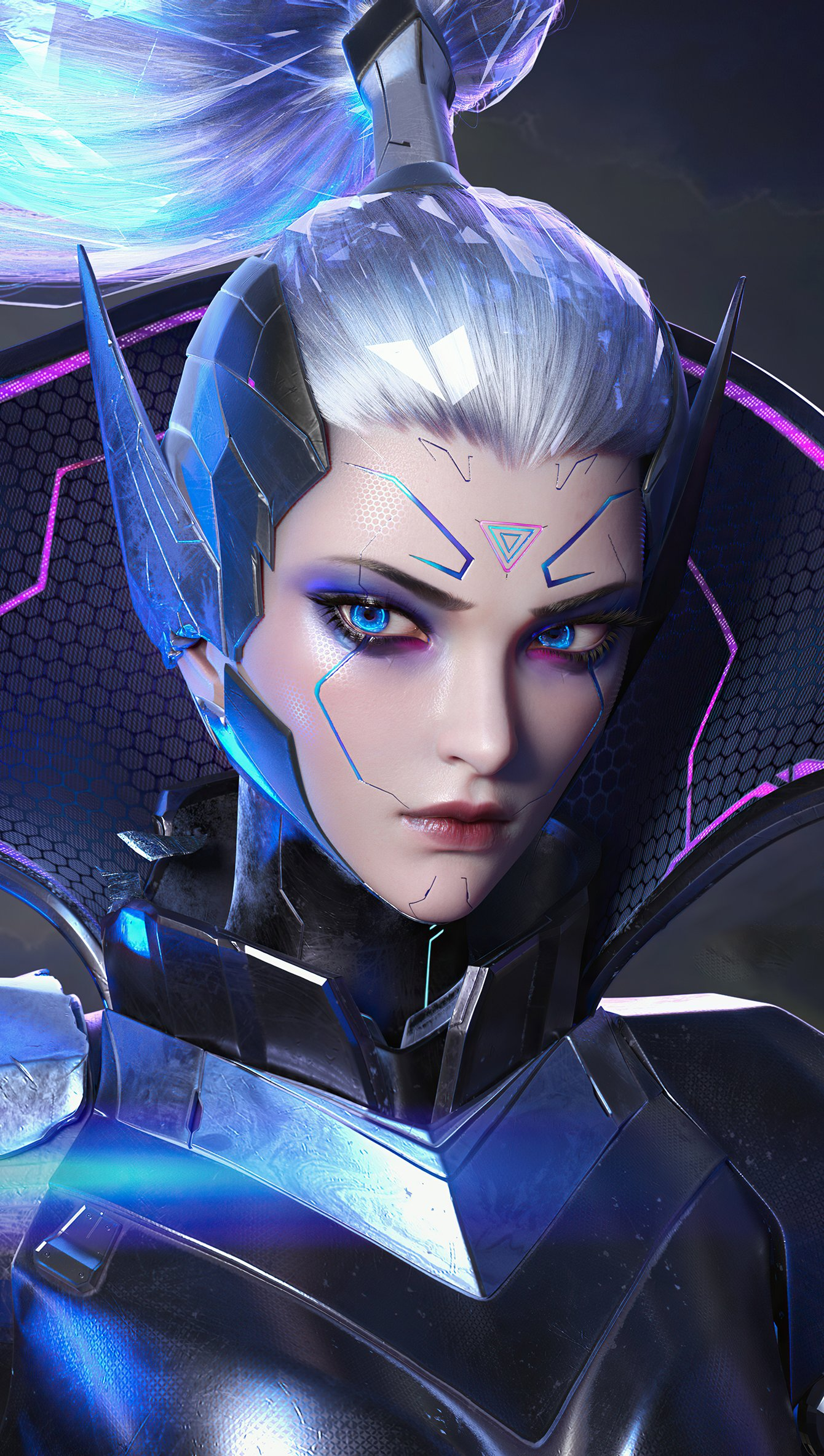 Fondos de pantalla Retrato de Vayne League of Legends Vertical