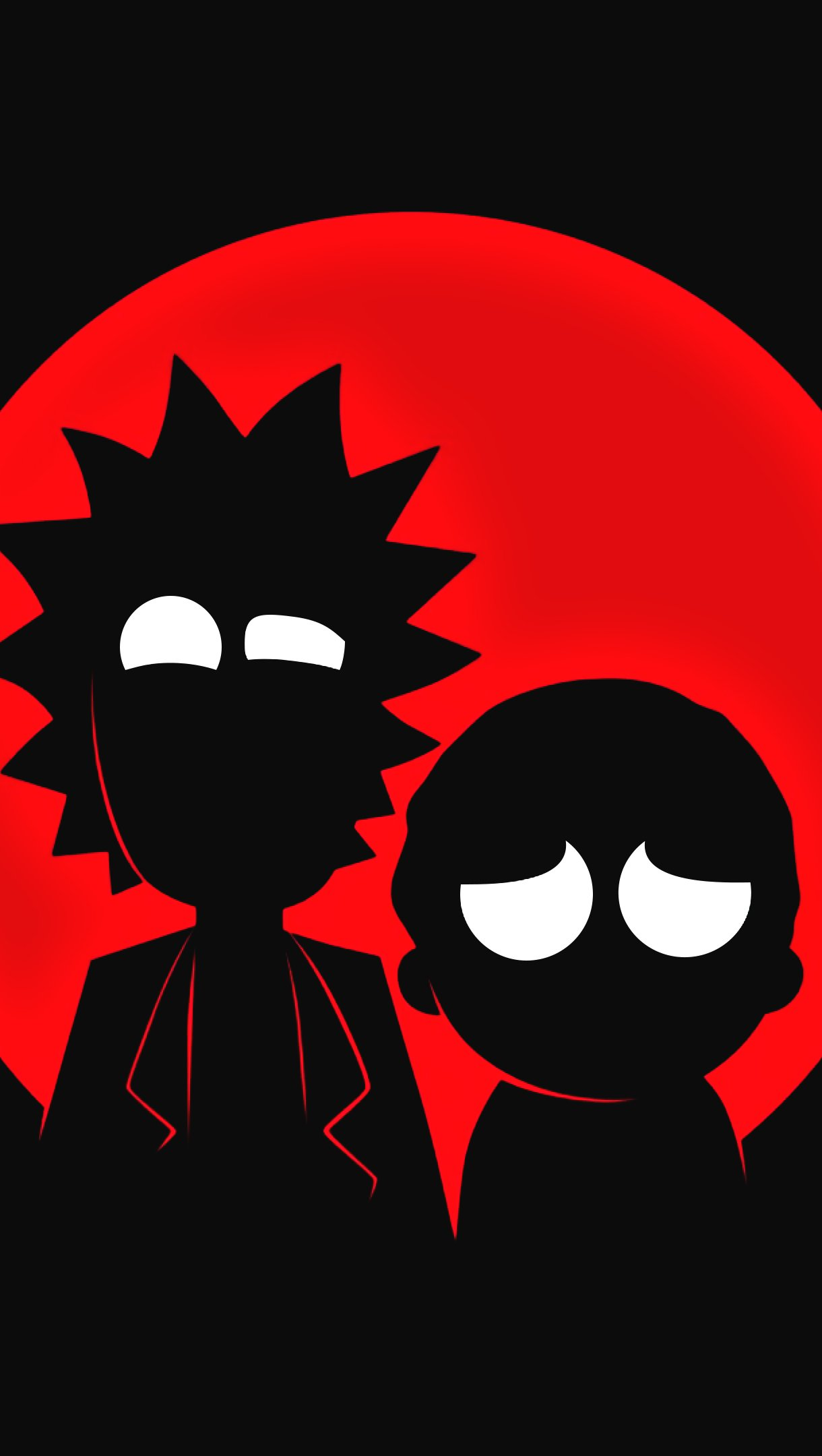 Fondos de pantalla Rick and Morty Minimalista Vertical