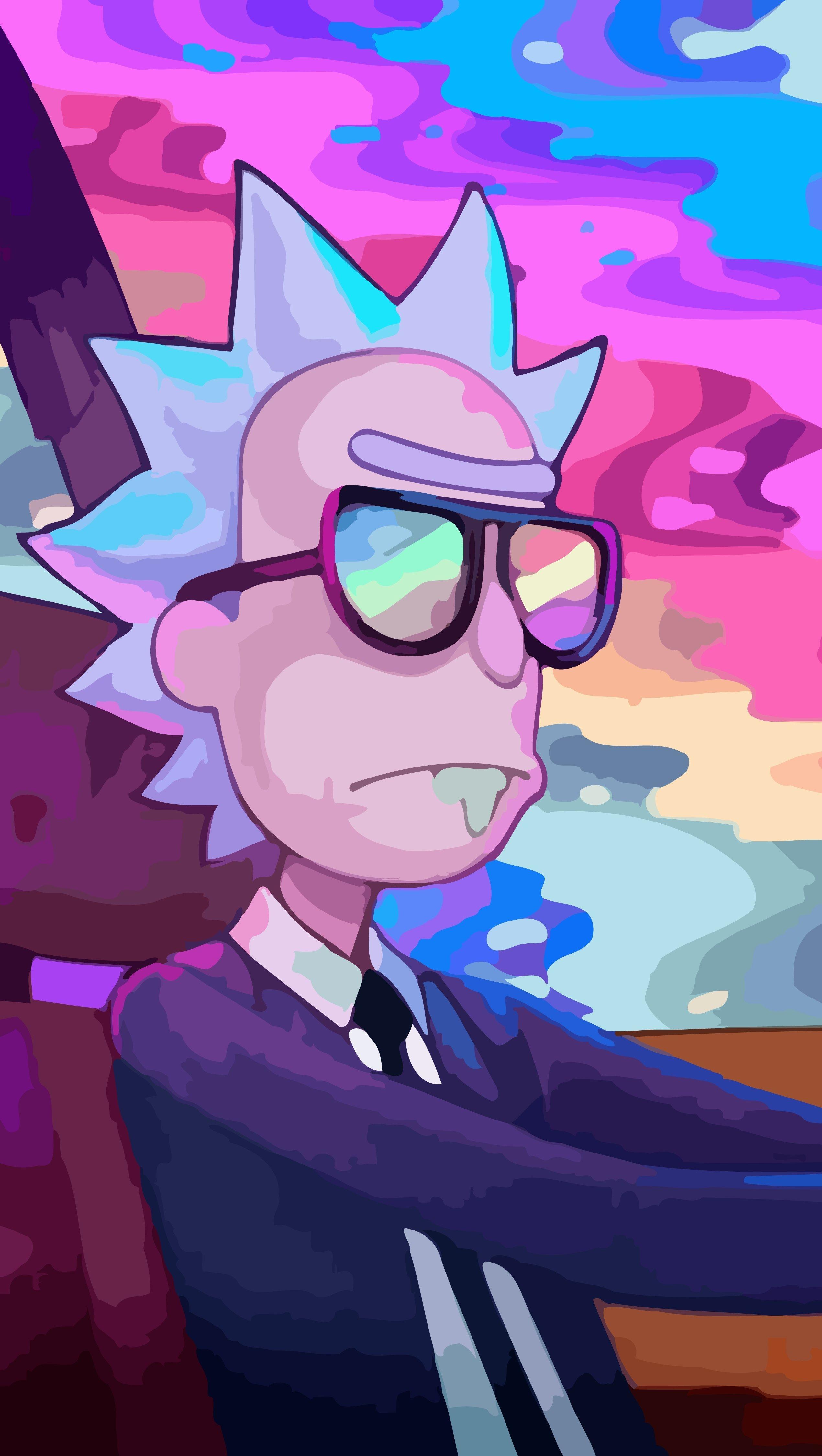 Fondos de pantalla Rick y Morty Vertical