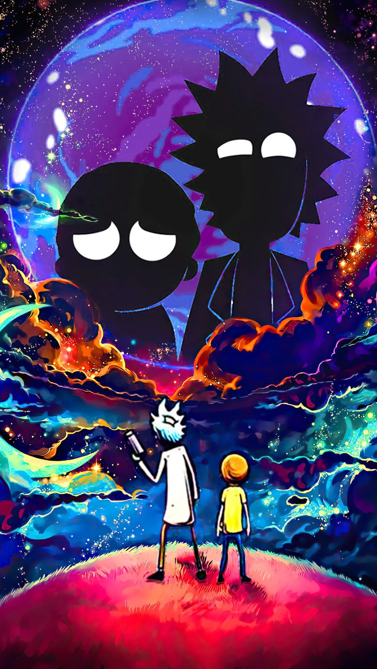 Fondos de pantalla Rick y Morty Fanart 2020 Vertical