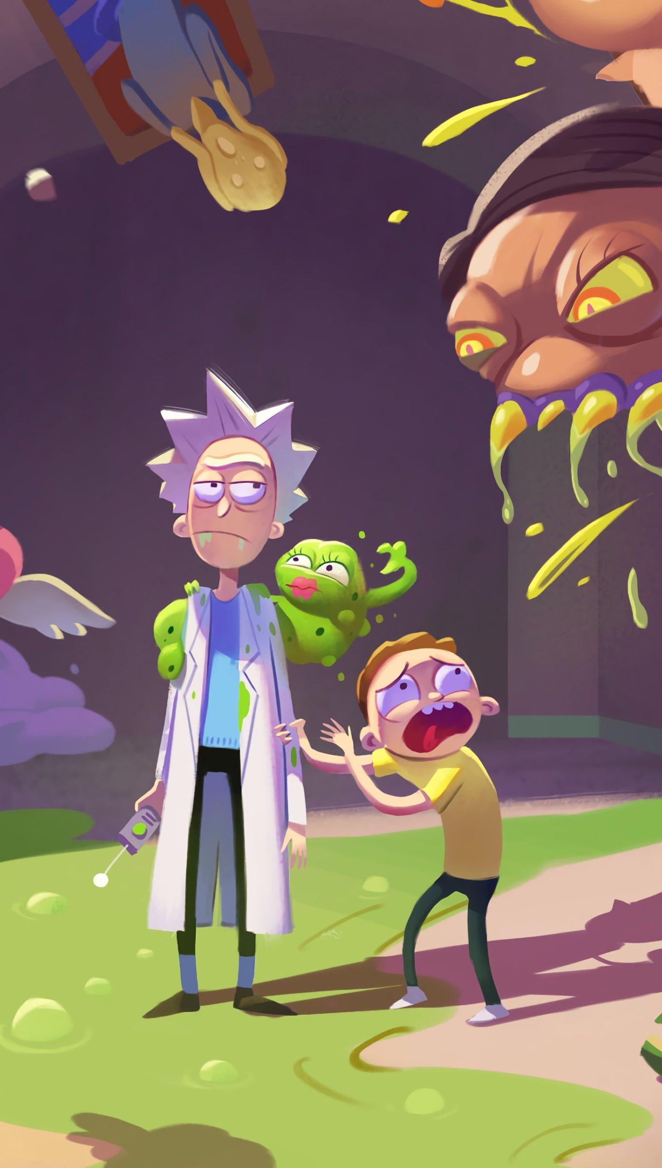 Rick And Morty Season 4 Wallpaper 4k Ultra Hd Id 4114