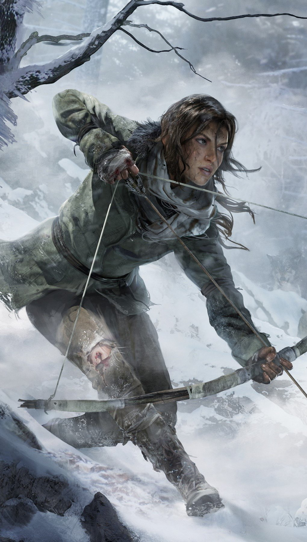 Wallpaper Rise Of The Tomb Raider Vertical