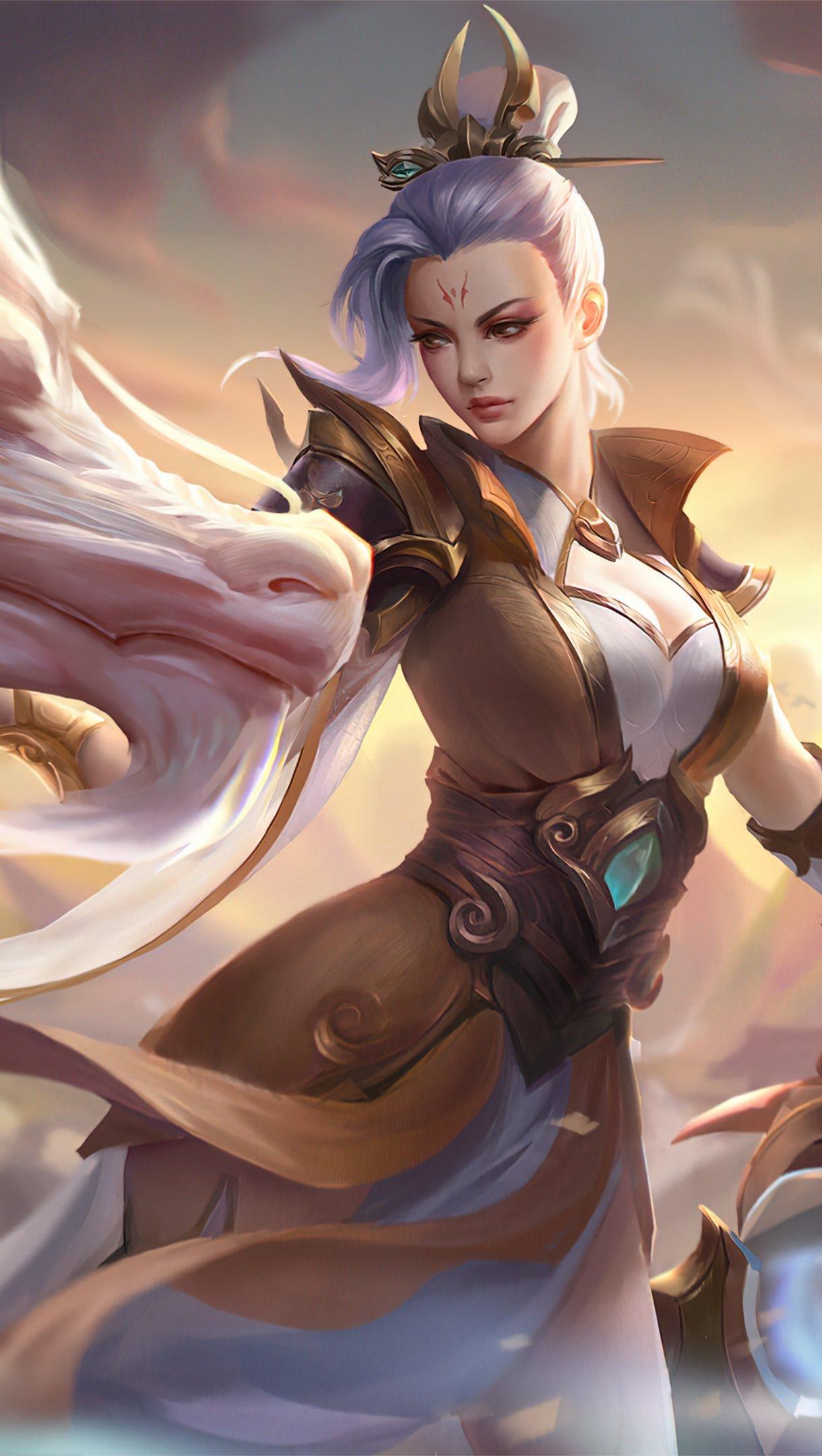 Fondos de pantalla Riven Valiant Sword Prestige League of Legends Arte Vertical