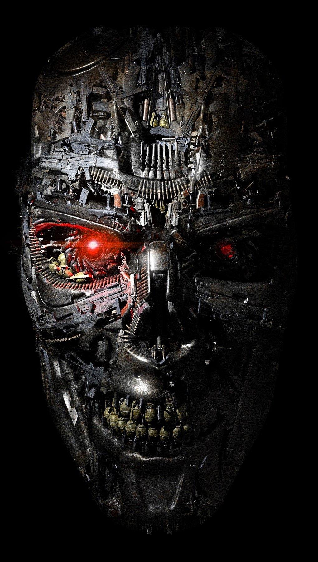 Fondos de pantalla Robot de Terminator Vertical