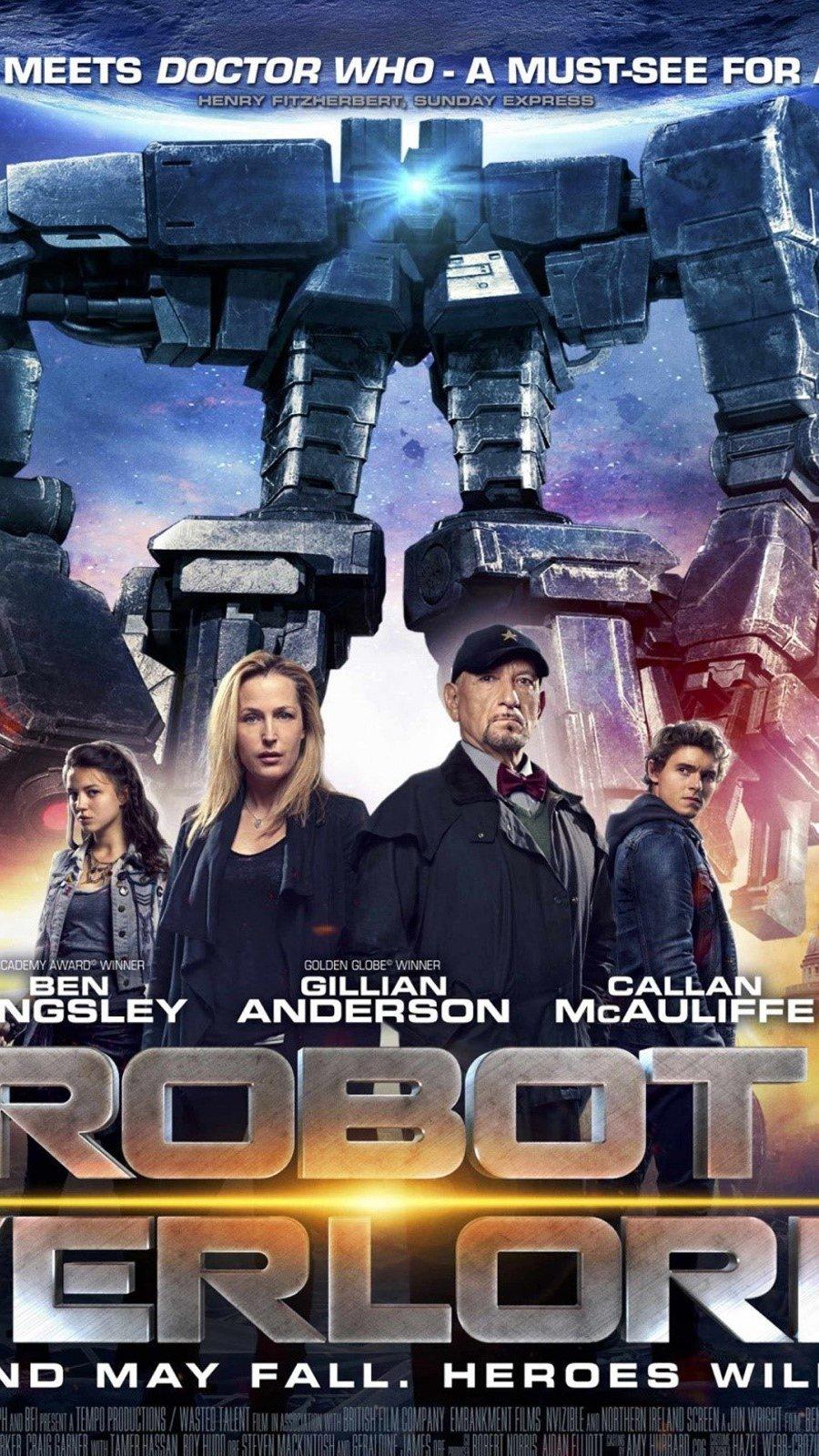 Wallpaper Robot overlords Vertical
