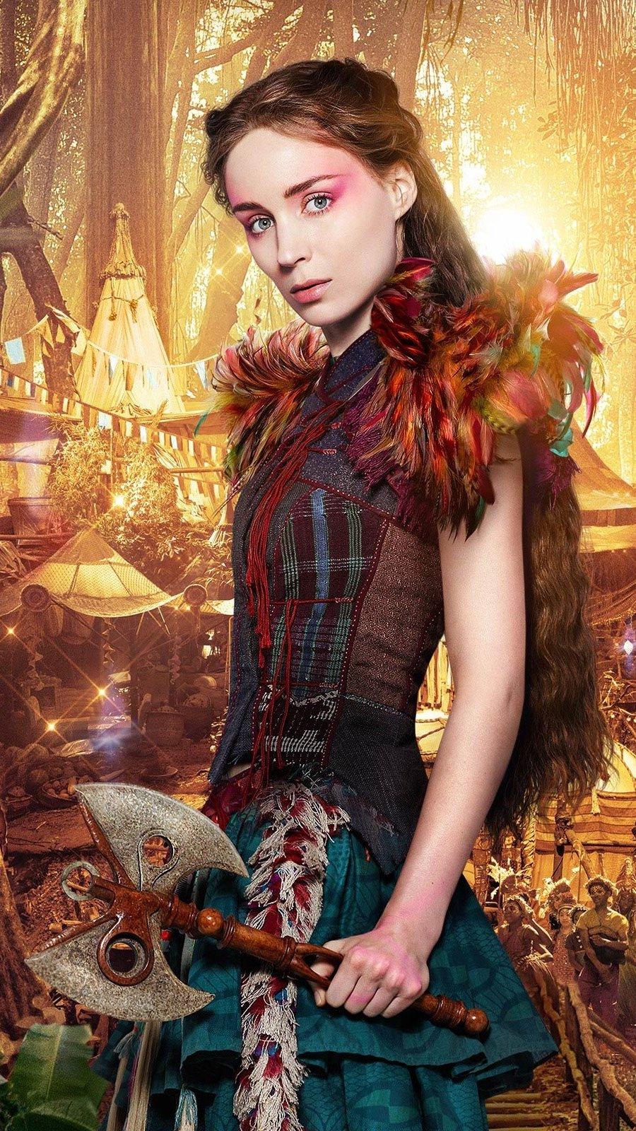 Fondos de pantalla Rooney Mara como Tigrilla en Pan Vertical