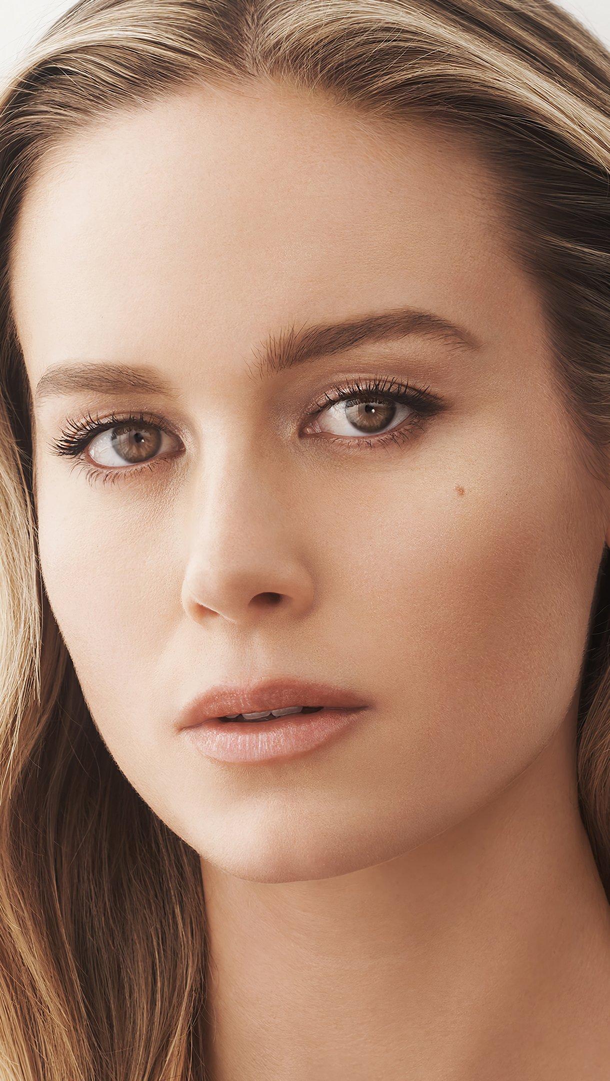 Fondos de pantalla Rostro de Brie Larson Vertical