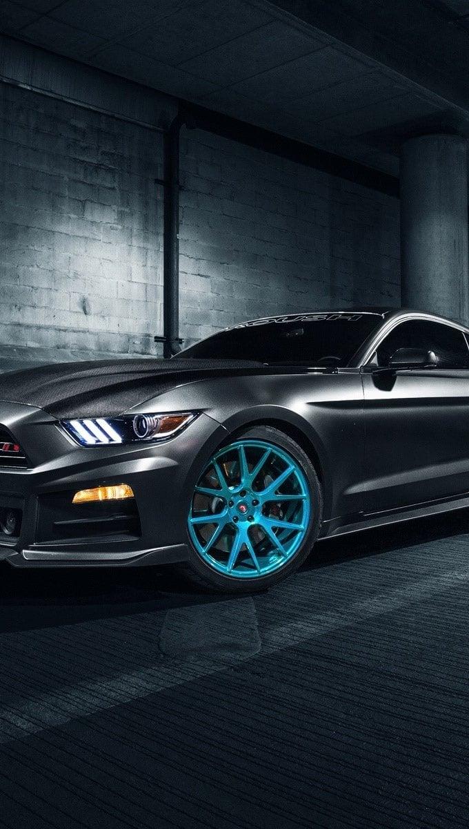 Wallpaper Roush Performance Mustang Vossen Wheels Vertical