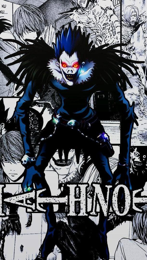 Fondos de pantalla Anime Ryuk de Death Note Vertical