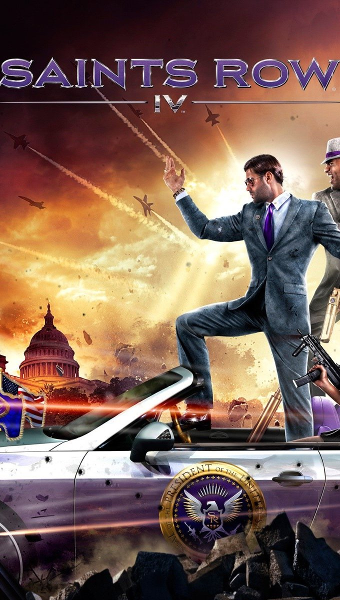 Wallpaper Saints Row 4 Vertical