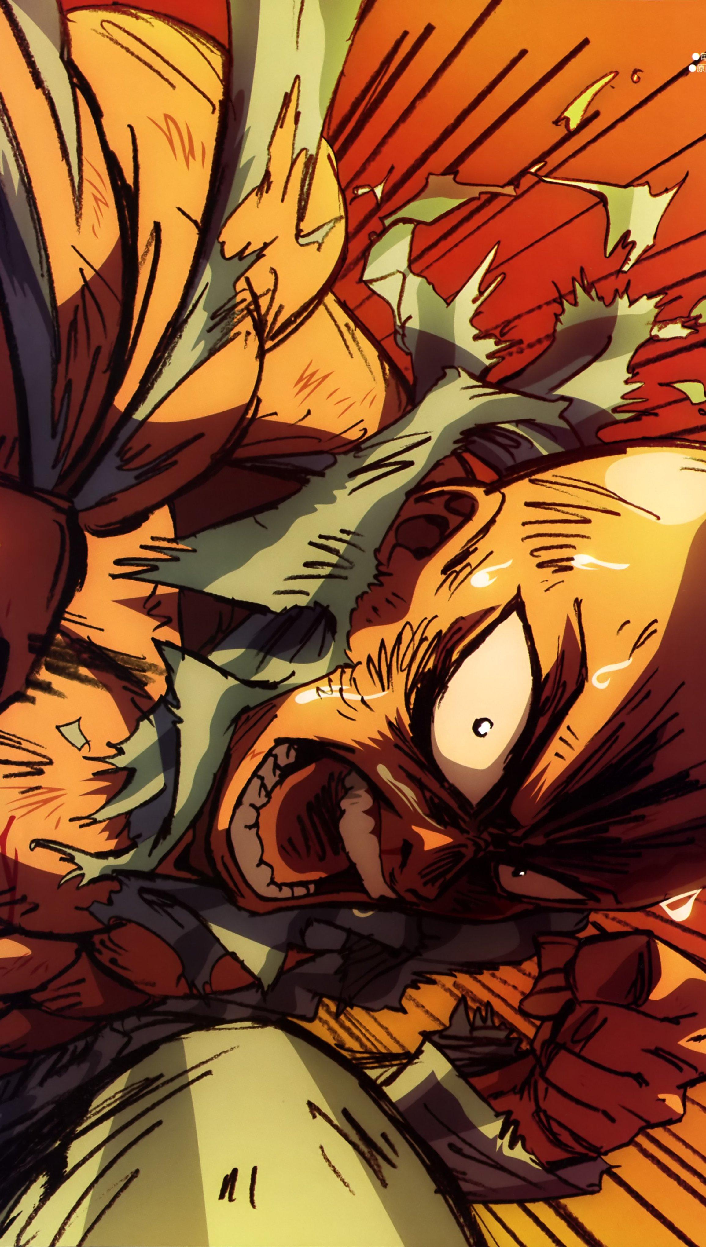 Fondos de pantalla Anime Saitama One Punch Man Vertical