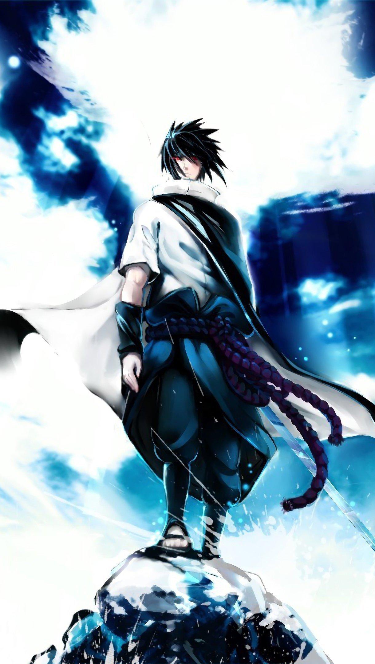Fondos de pantalla Anime Sasuke Uchiha Vertical