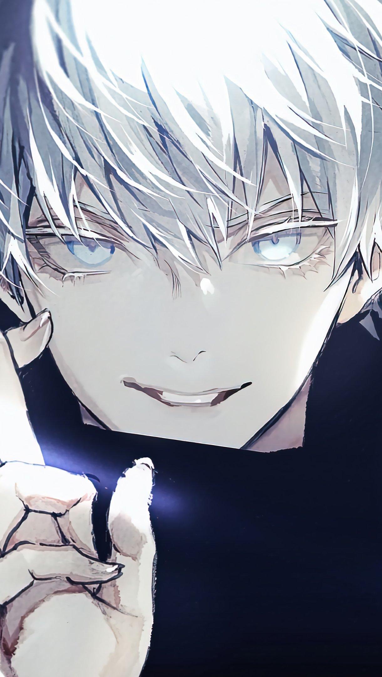 Fondos de pantalla Anime Satoru Gojo de Jujutsu Kaisen Vertical