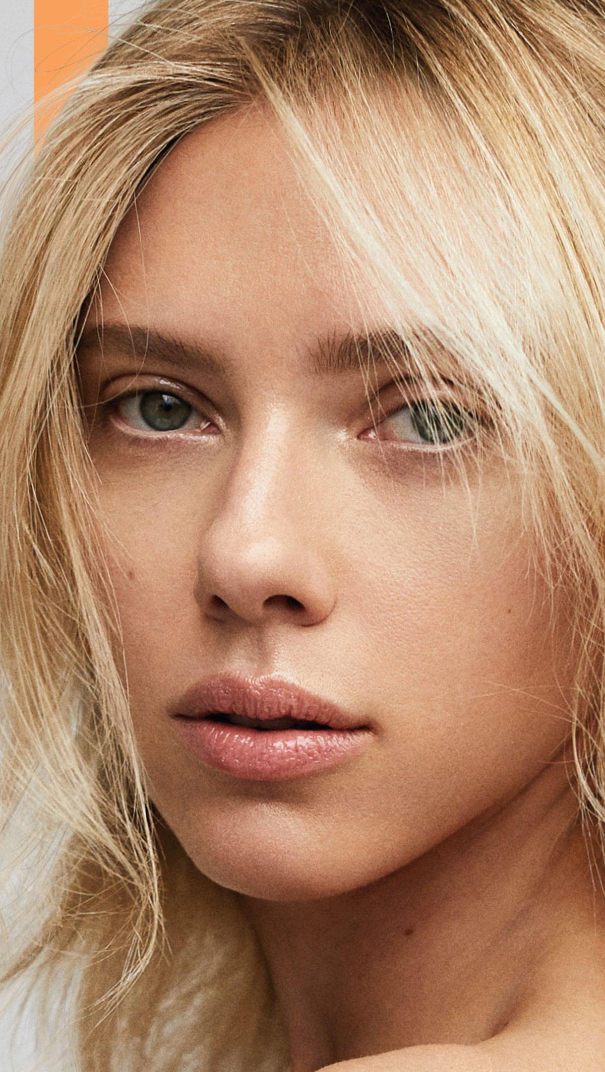 Fondos de pantalla Scarlett Johansson cabello corto Vertical