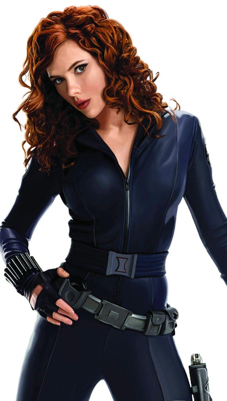Fondos de pantalla Scarlett Johansson como Black Widow Vertical