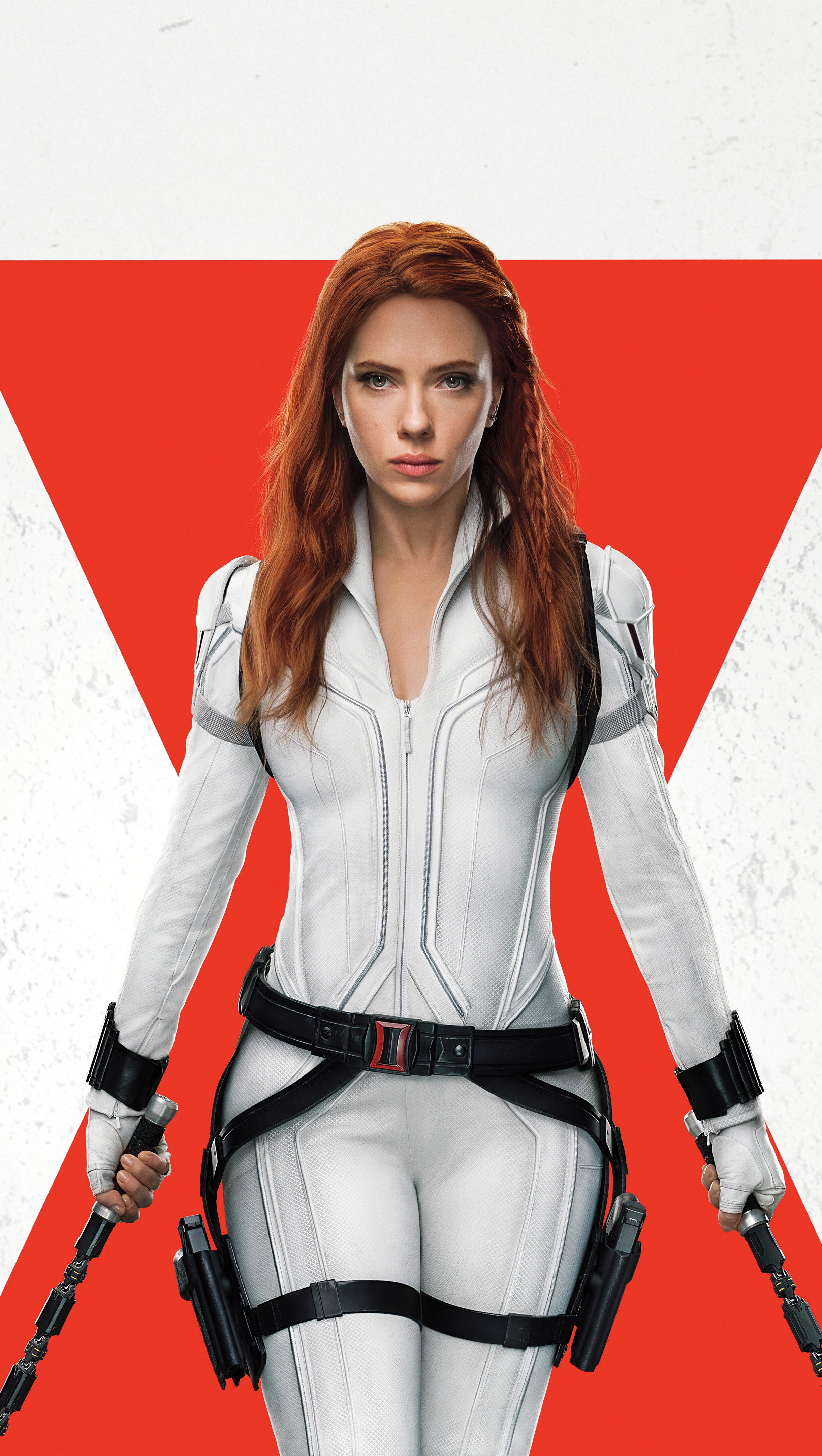 Wallpaper Scarlett Johansson as Black Widow Movie Vertical