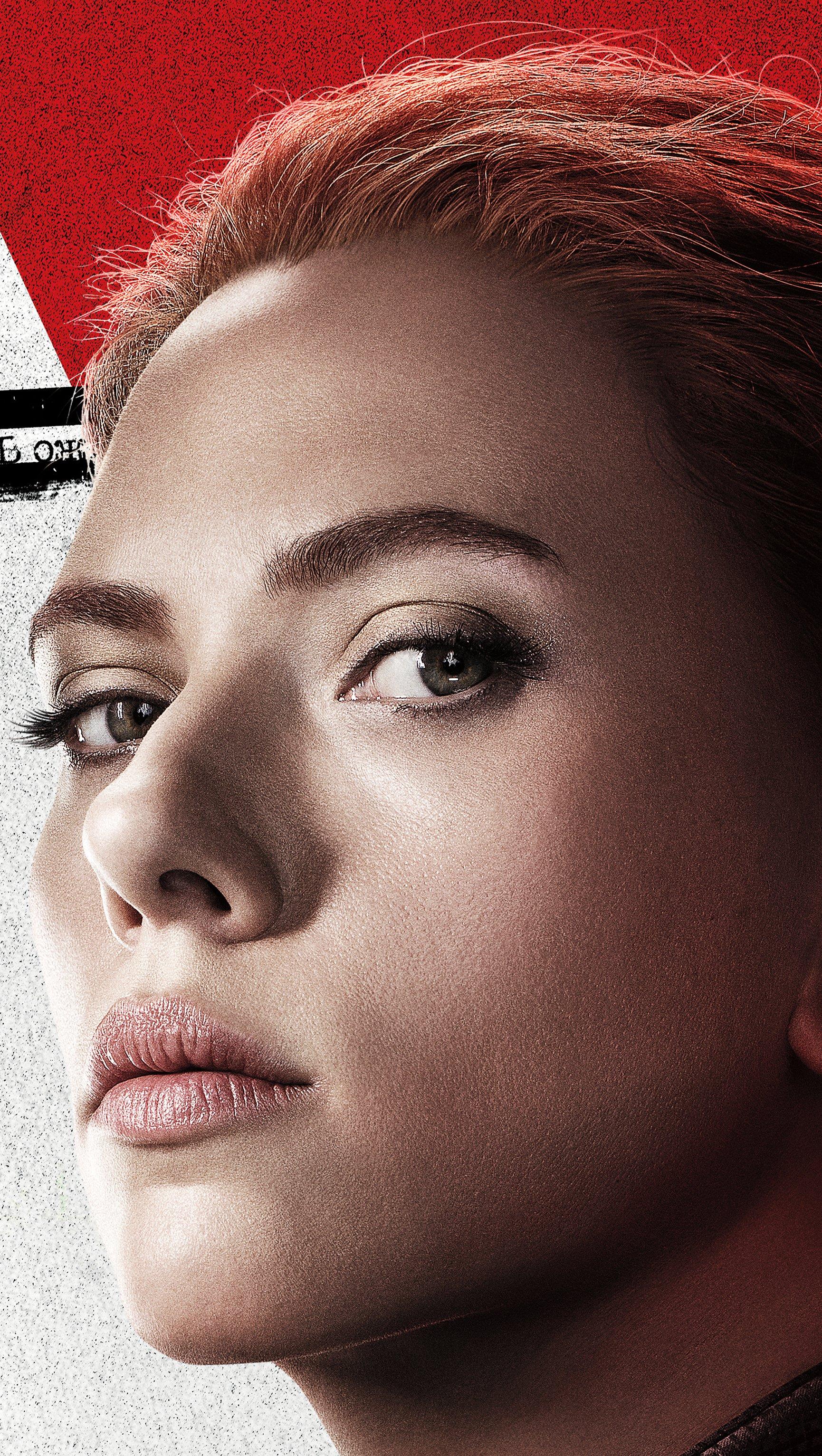 Fondos de pantalla Scarlett Johansson en Black Widow Vertical