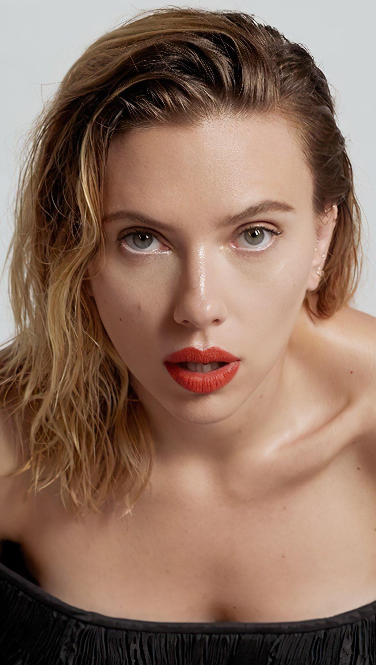 Wallpaper Scarlett Johansson for Vanity Fair 2020 Vertical