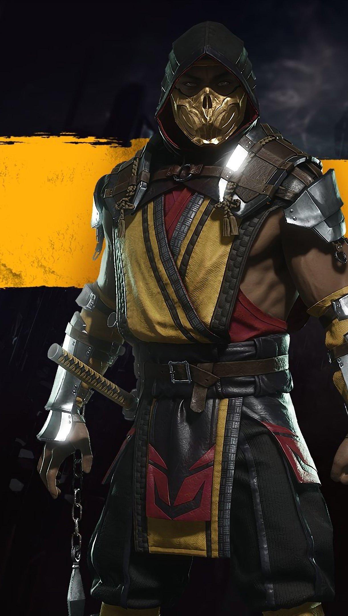 Fondos de pantalla Scorpion de Mortal Kombat Vertical