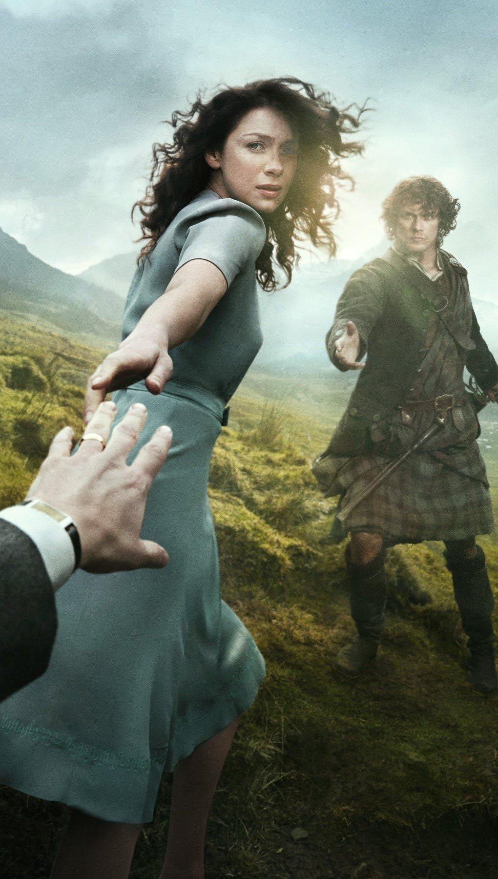 Wallpaper Outlander 2014 series Vertical