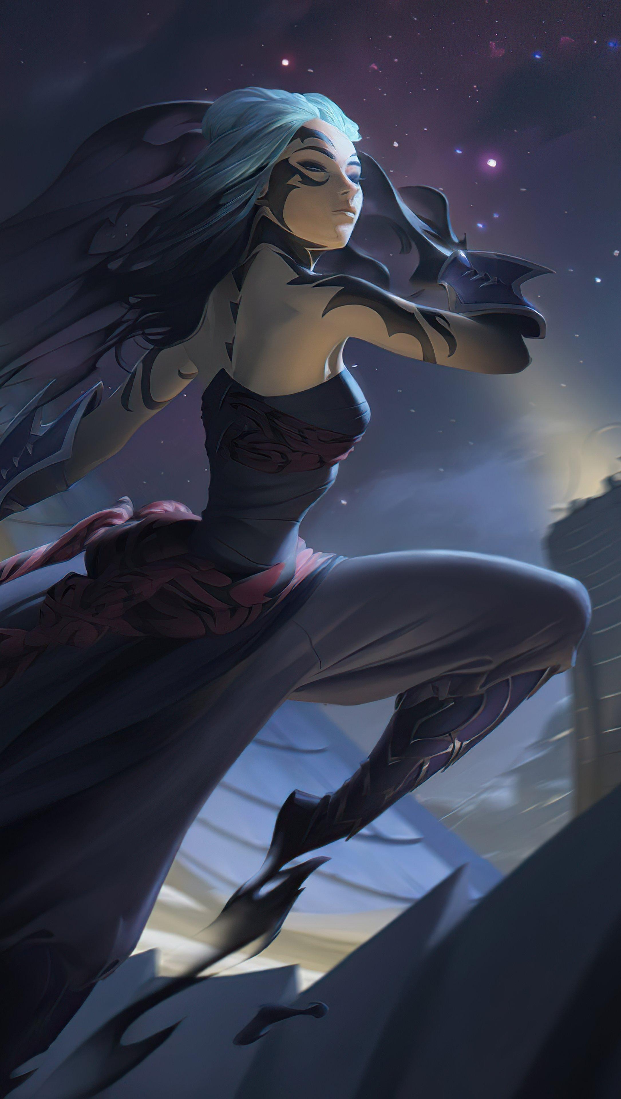 Fondos de pantalla Shadow Assassin Legends of Runeterra Vertical