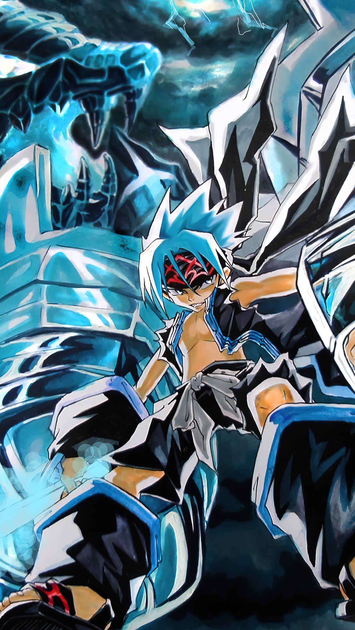 Fondos de pantalla Anime Shaman King Horohoro Vertical