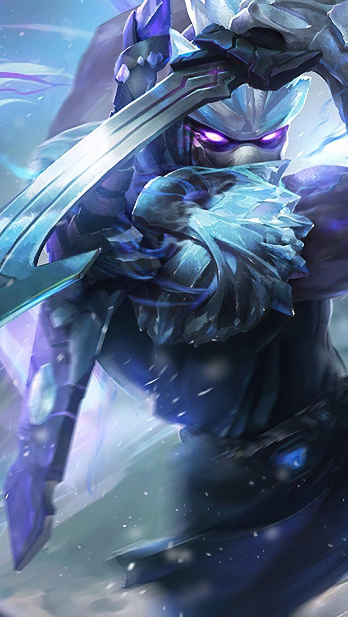 Wallpaper Shen from League of Legends Vertical