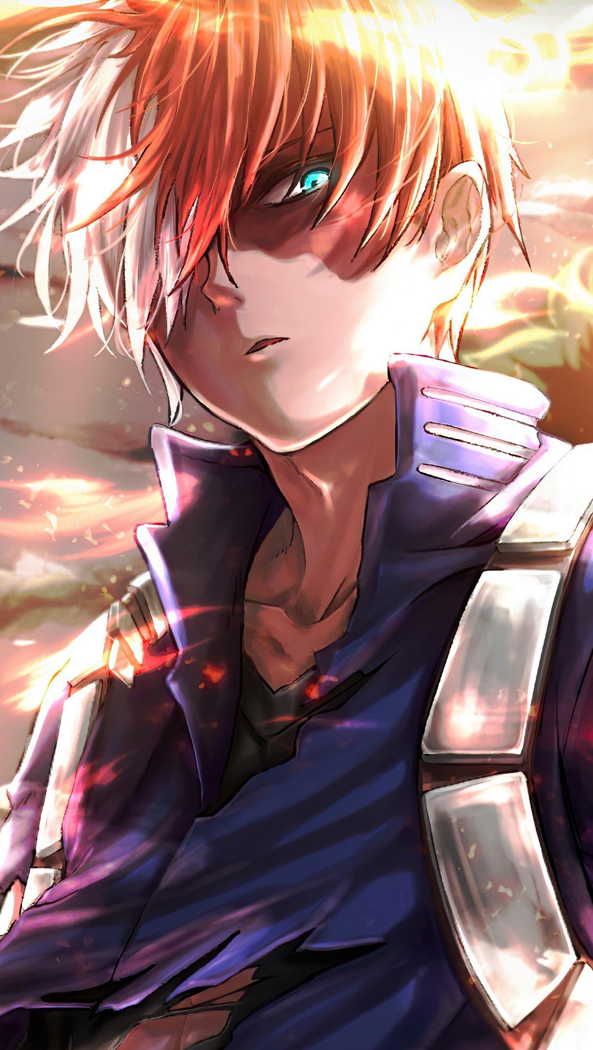 Fondos de pantalla Anime Shoto Todoroki de My Hero Academia Vertical