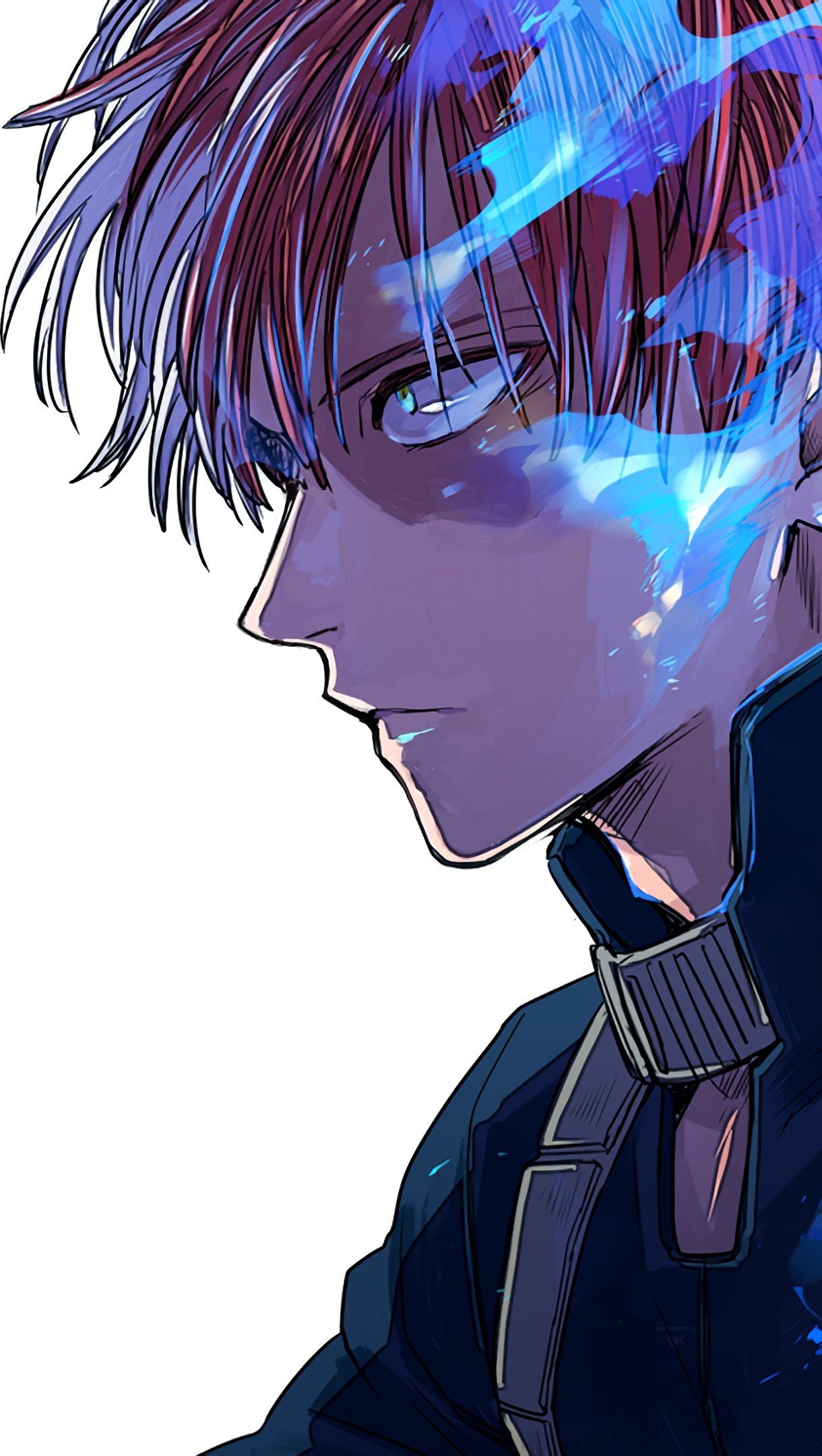Fondos de pantalla Anime Shoto Todoroki My Hero Academia Vertical