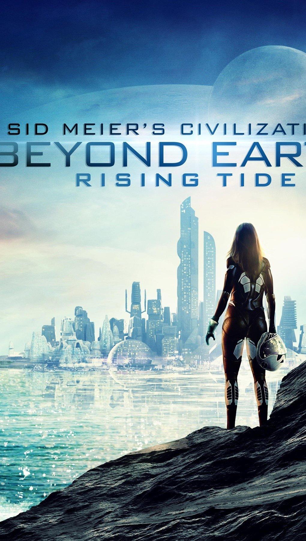 Wallpaper Sid meier's Civilization Beyond Earth Vertical