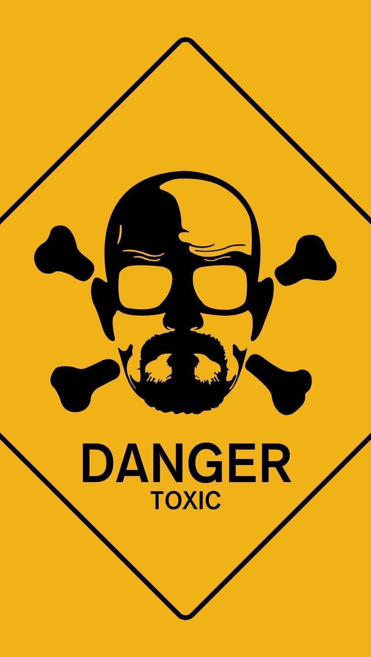 Wallpaper Danger Sign Breaking Bad Vertical