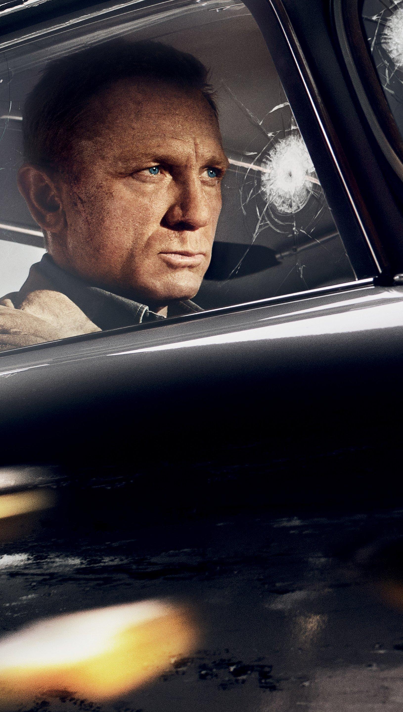 Wallpaper No time to die James Bond Vertical