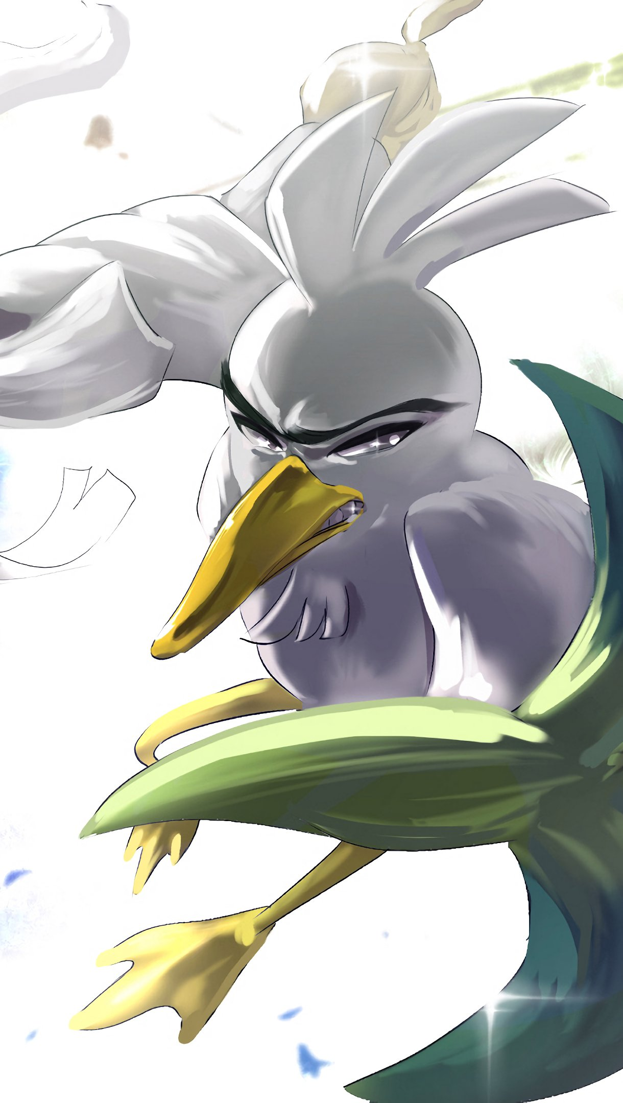 Fondos de pantalla Sirfetch'd Pokemon Espada y Pokemon Escudo Vertical