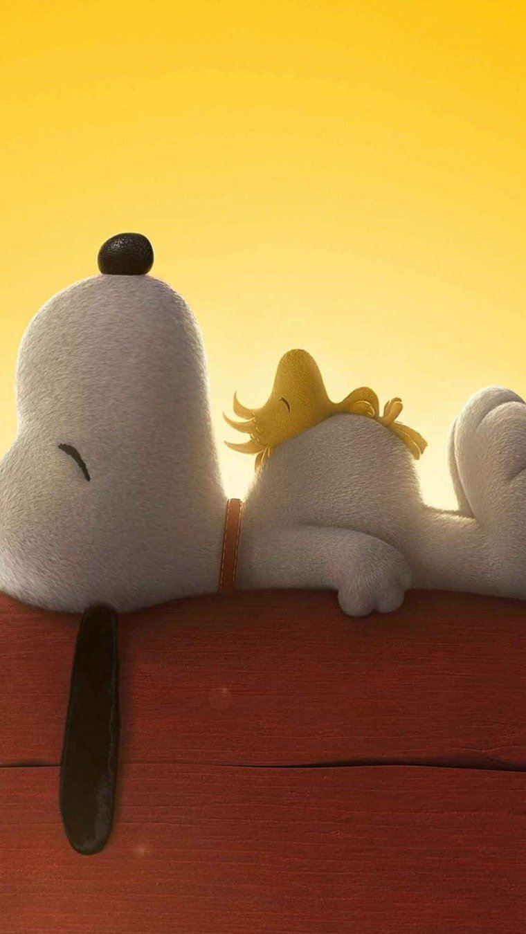 Wallpaper Snoopy and Charlie Brown: Peanuts Vertical