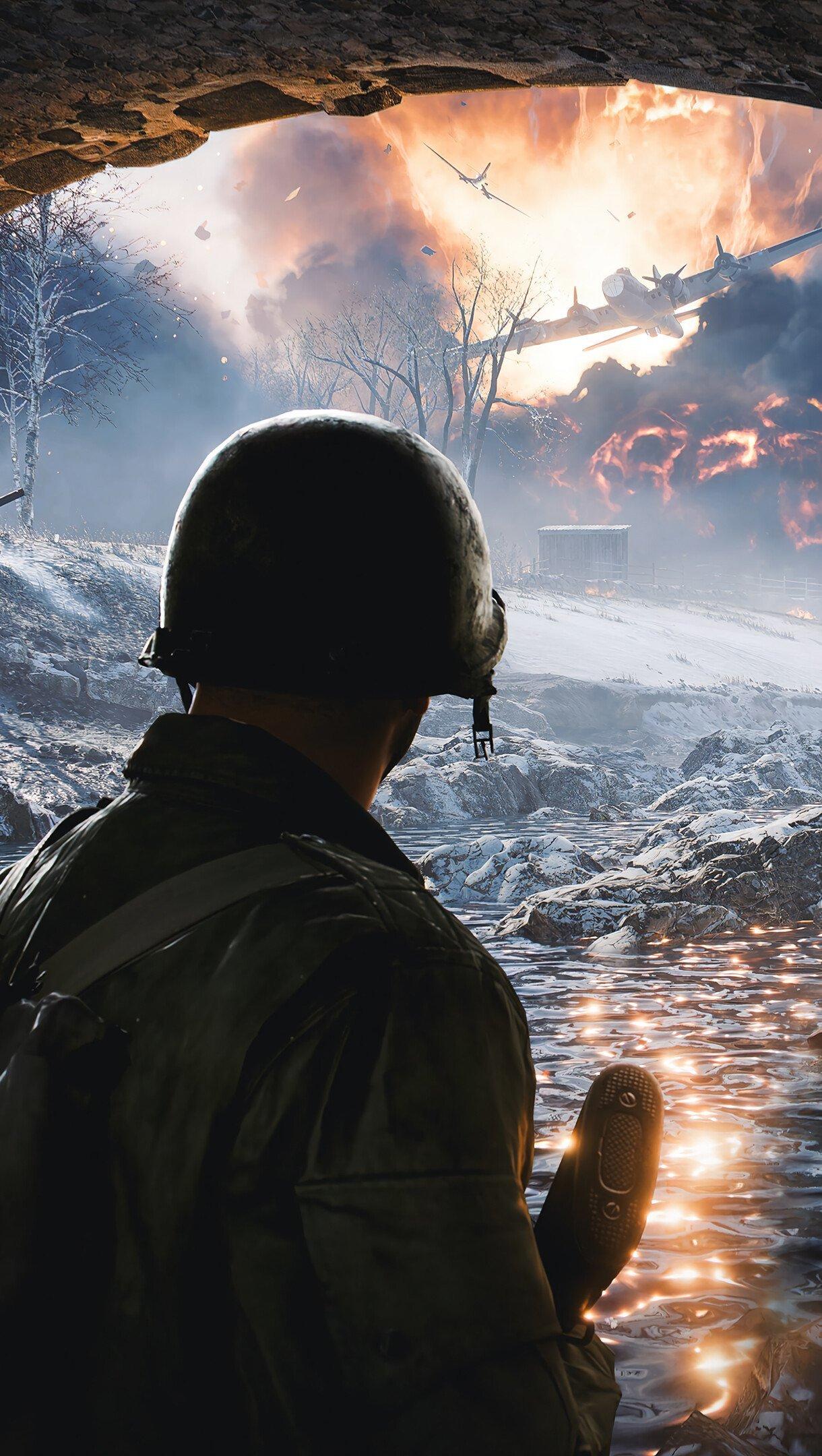 Wallpaper Soldier in Battlefield 2042 Vertical