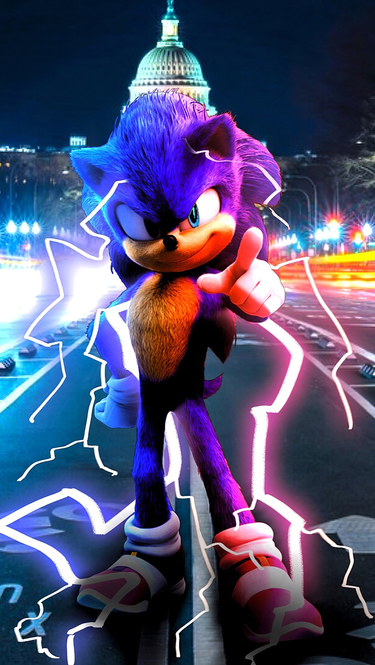 Wallpaper Sonic The Hedgehog Vertical
