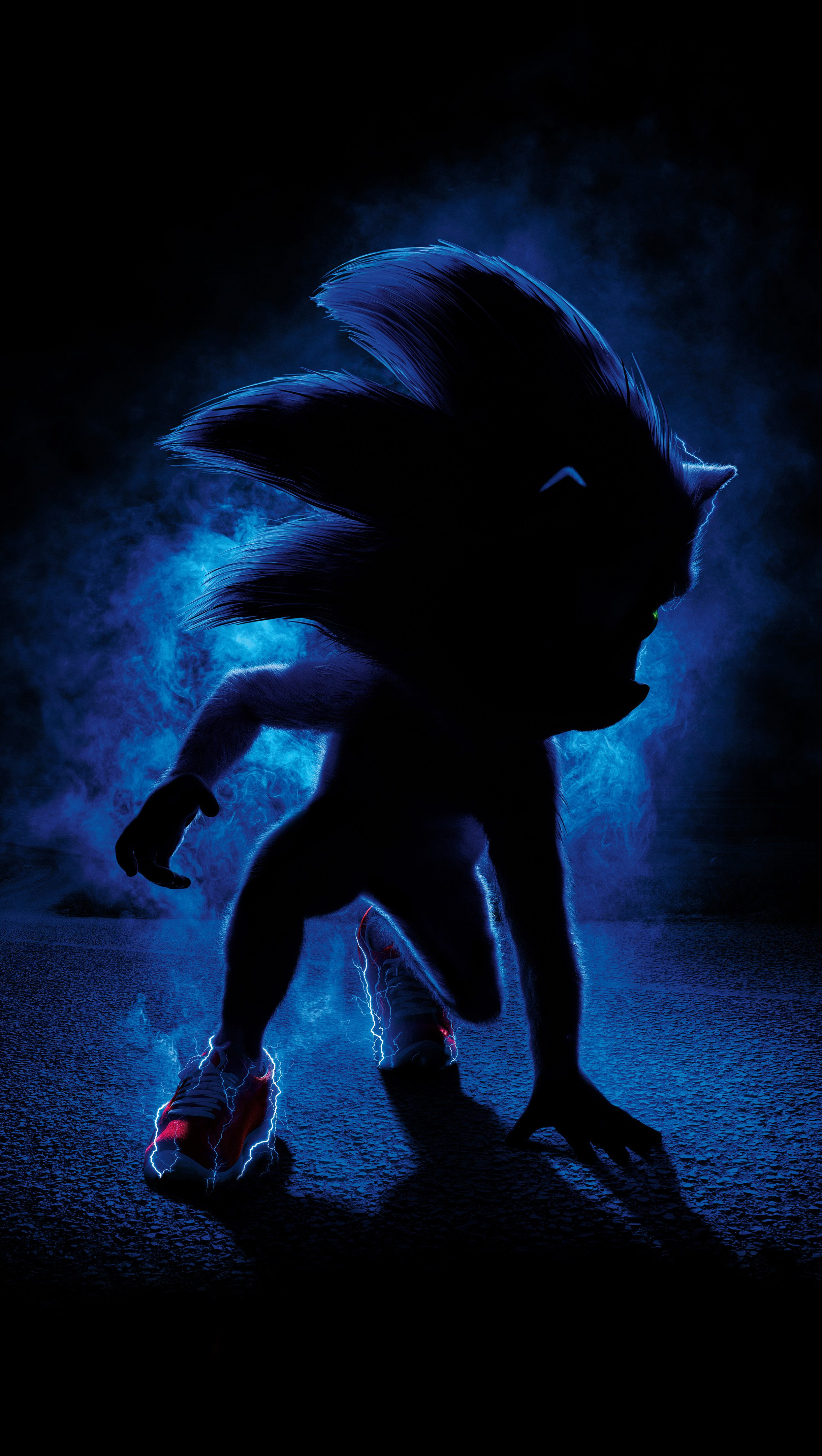 Wallpaper Sonic the Hedgehog Movie Vertical