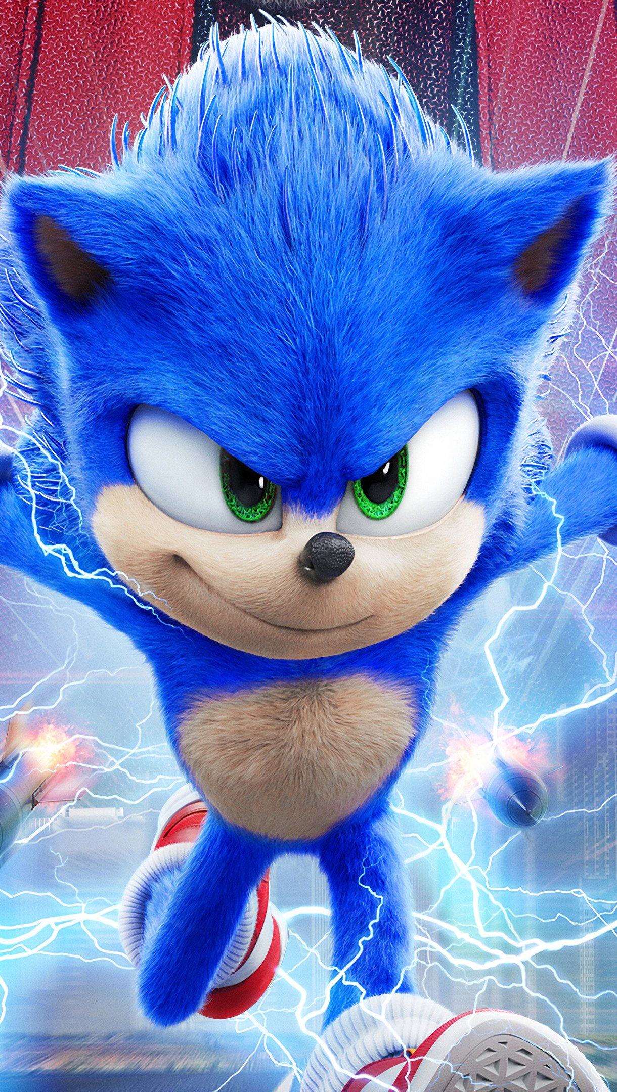 Fondos de pantalla Sonic the Hedgehog Poster de Película Vertical