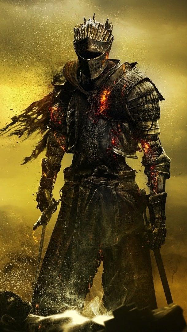 Wallpaper Soul of cinder by Dark Souls 3 Vertical