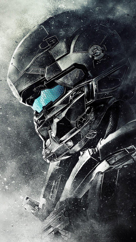 Wallpaper Spartan Locke Halo 5 Guardians Vertical