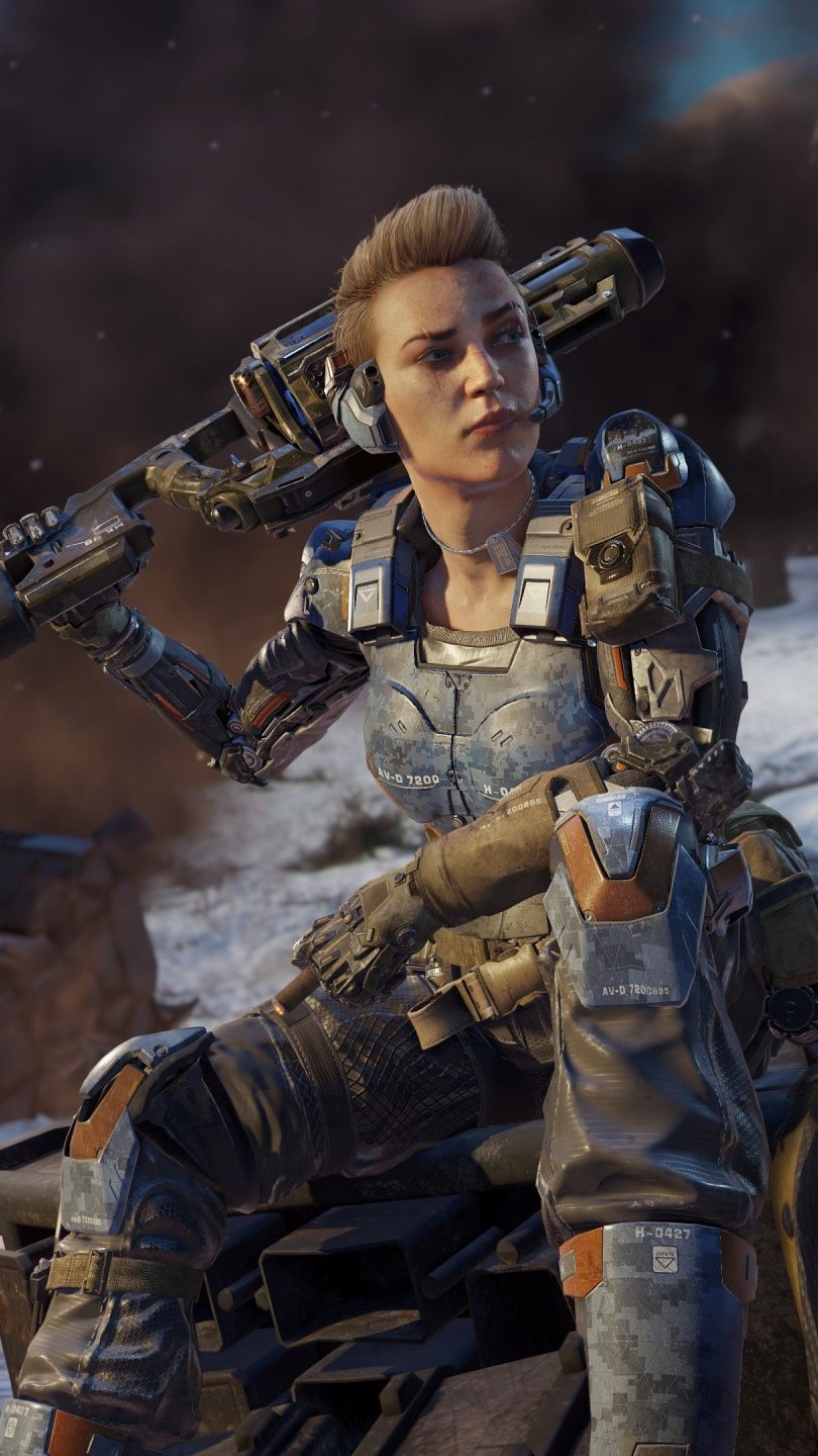 Wallpaper Specialist Battery by Call of Duty Black Ops 3 Vertical