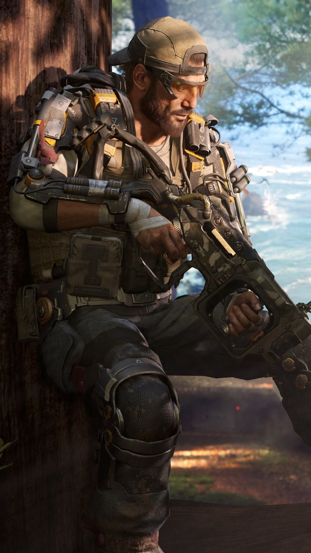 Fondos de pantalla Specialist Nomad de Call of Duty Black Ops 3 Vertical