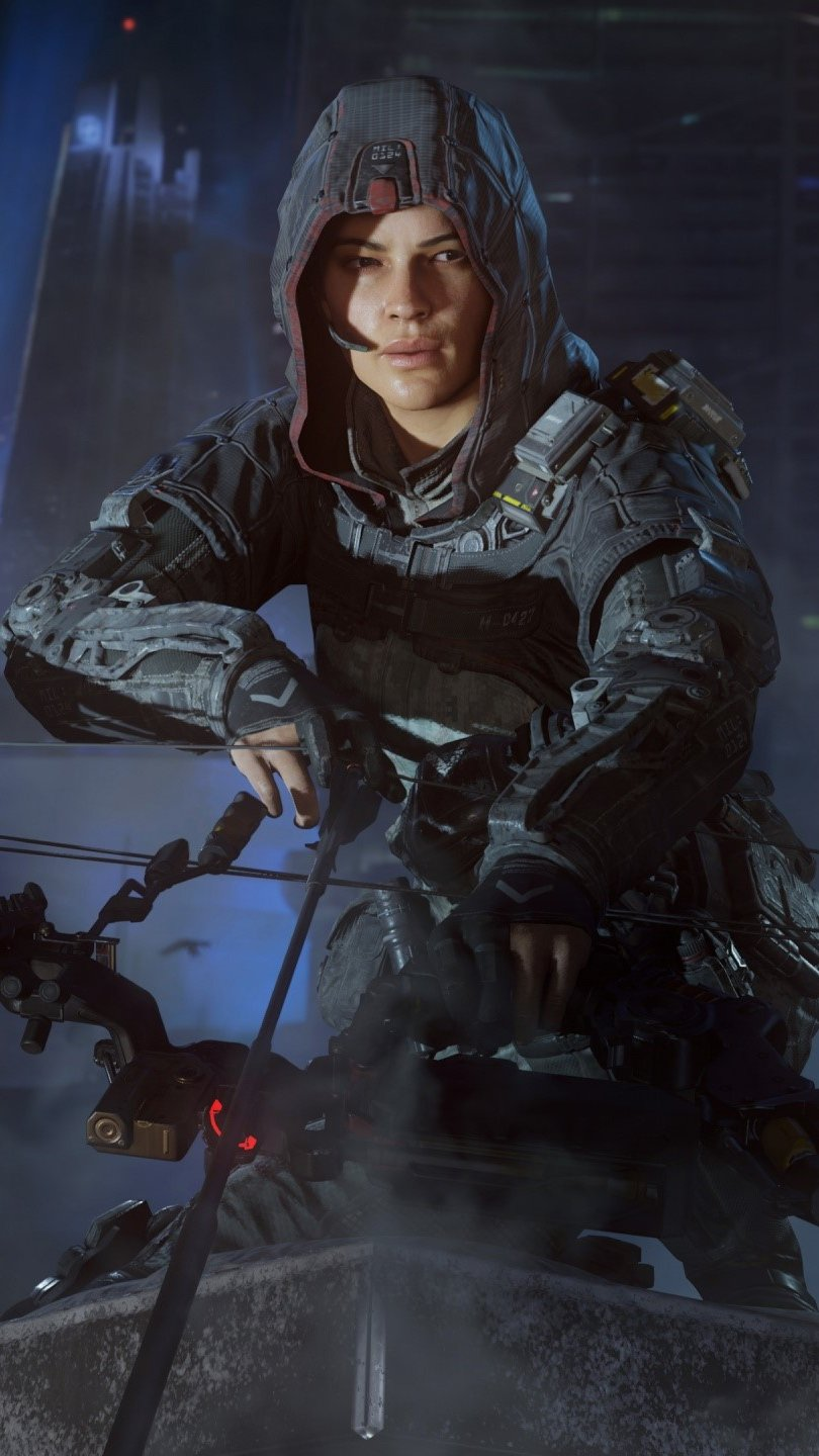 Wallpaper Specialist Outrider from Call of duty Black Ops 3 Vertical