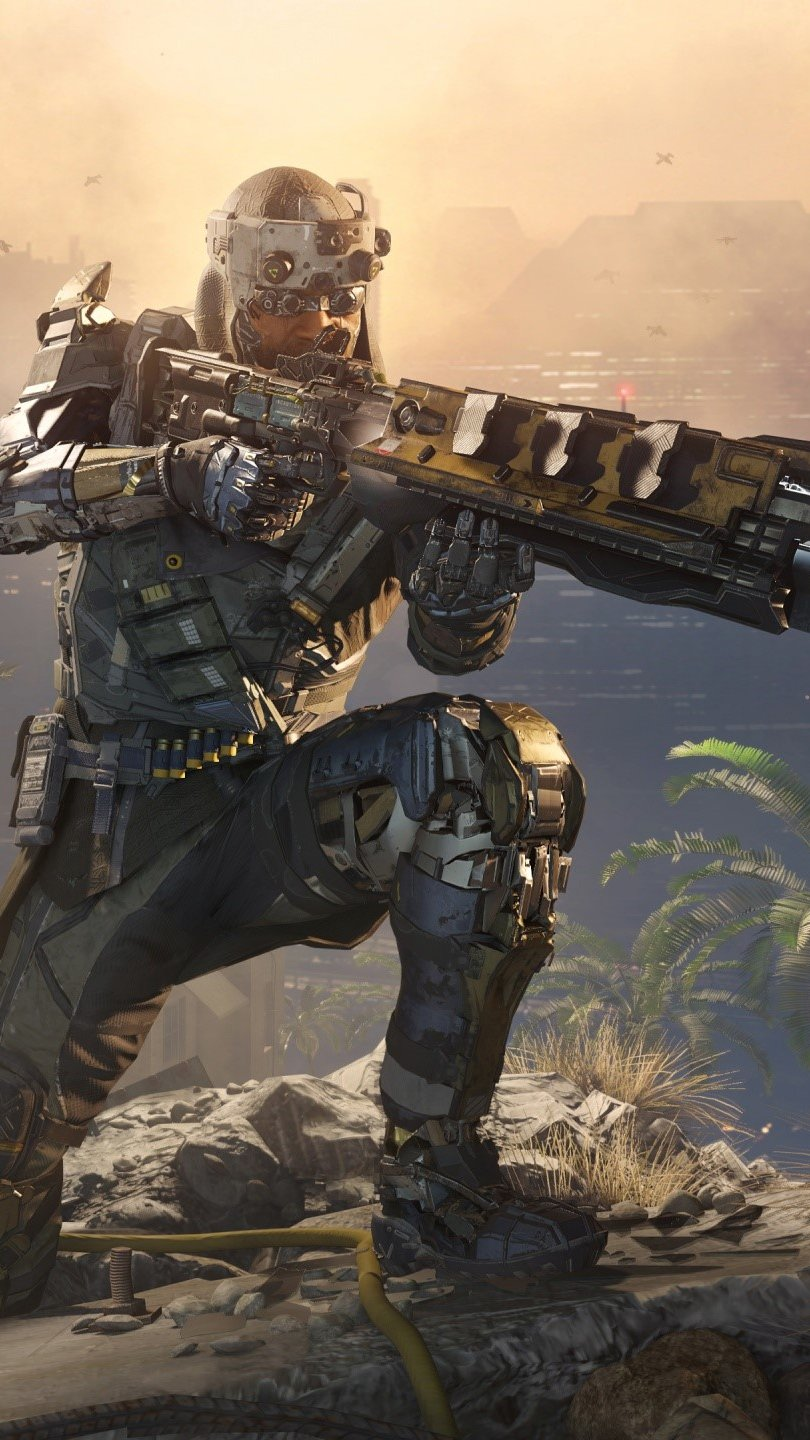 Wallpaper Specialist Prophet by Call of Duty Black Ops 3 Vertical